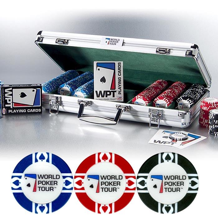 World poker tour 400 chip set